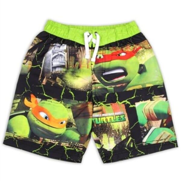 b8c4a3455bd3a Nick Jr Teenage Mutant Ninja Turtles Boys Swim Shorts
