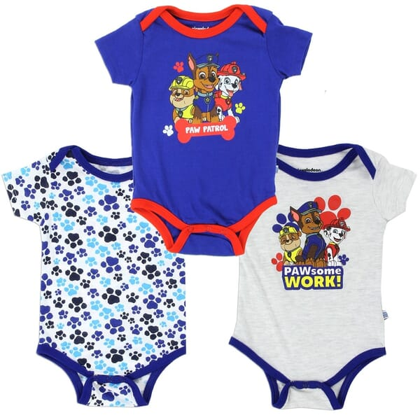 902fd9439 Nick Jr Paw Patrol Pawferct Team Onesie Set with Chase Marshall Rubble  Space City Kids Clothing. Loading zoom