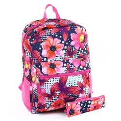 2b1c0690877 Confetti Purple Flower Floral Girls Backpack